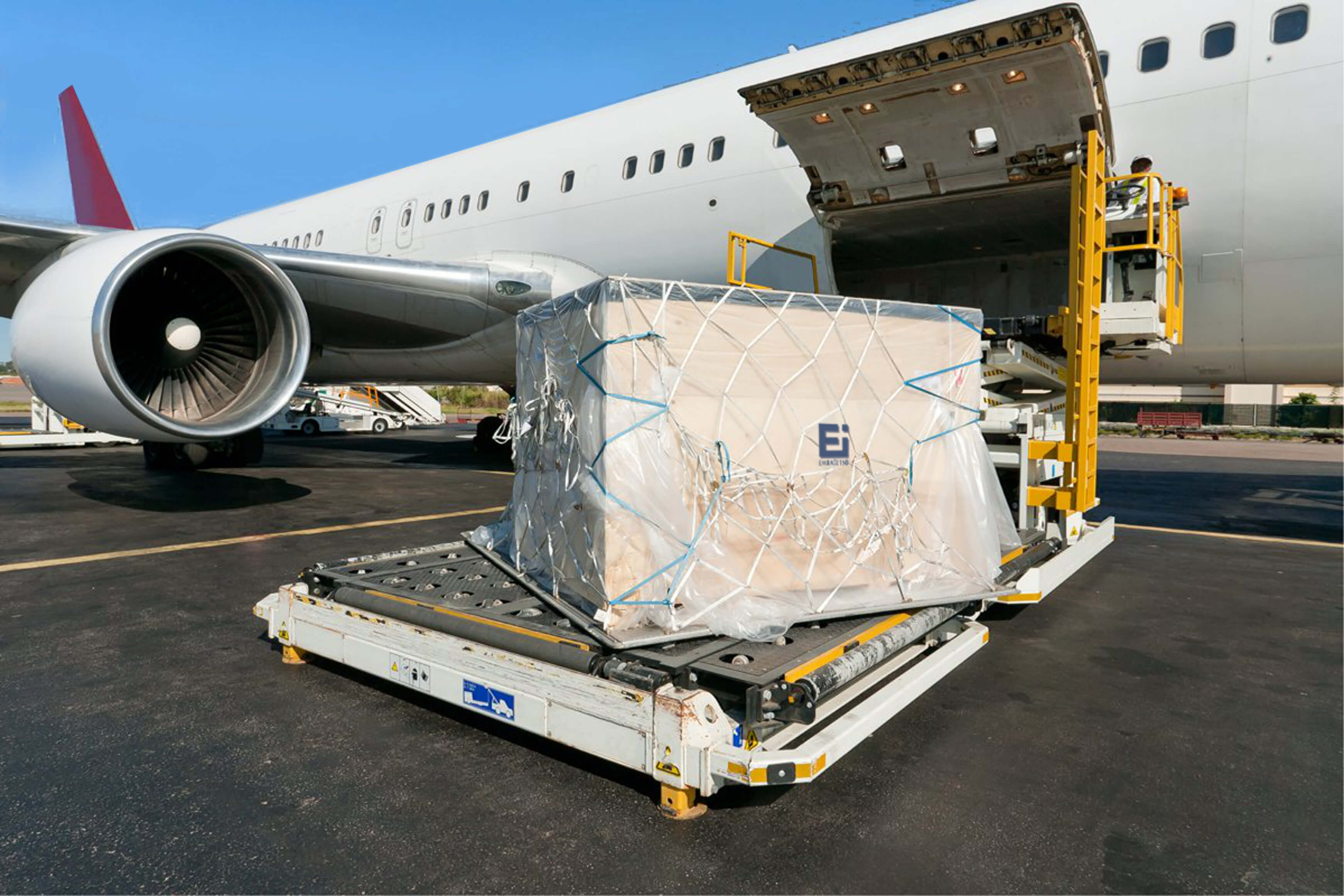 Pallet Shipper Ready To Go On A Plane