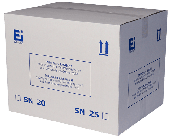 Isothermal packaging Standard National closed