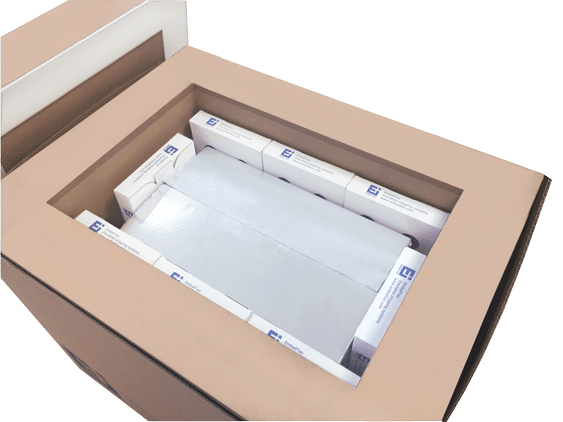 Zoom sur le High Performance Box Pallet ouvert