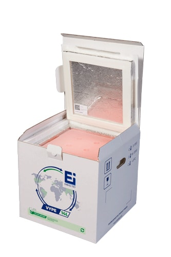 Emballage Isotherme VYPE Ouvert Isothermal Packaging VYPE Opened